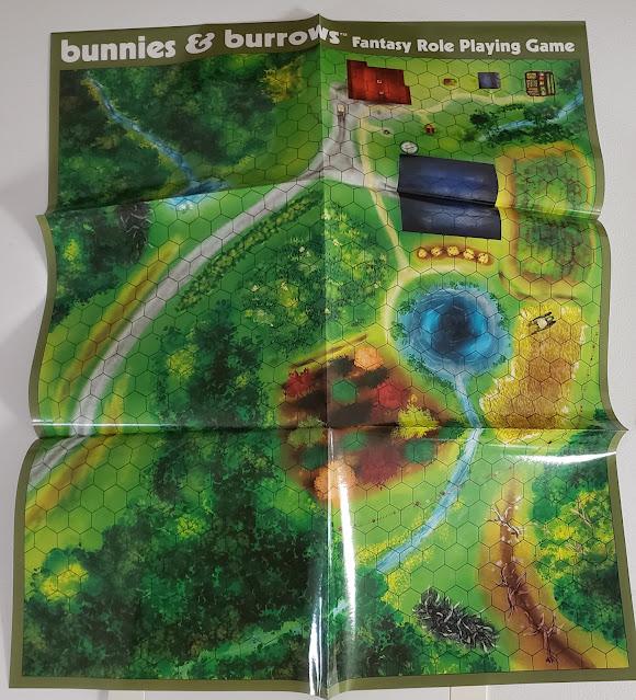 Bunnies & Burrow map