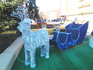 Christmas, Reindeer, Sleigh, Yambol