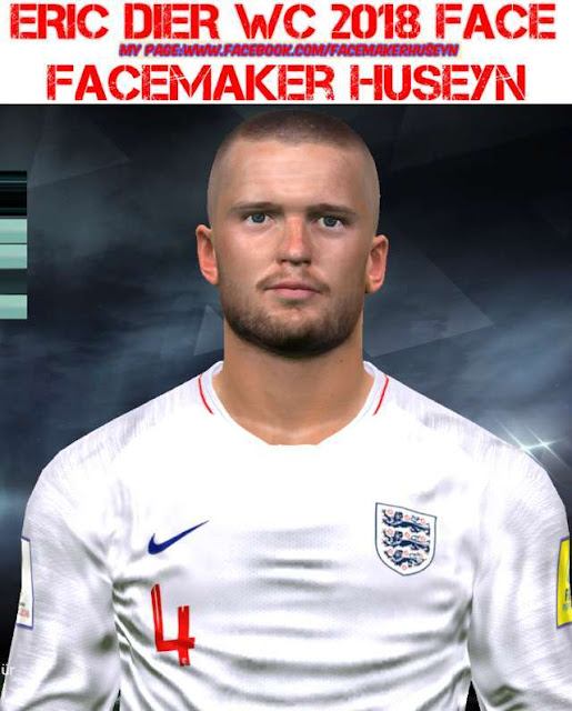 Eric Dier New Face PES 2017