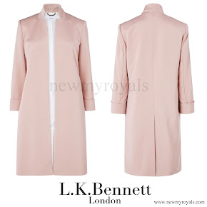 Crown Princess Victoria wore L.K.Bennett Mason Event Coat