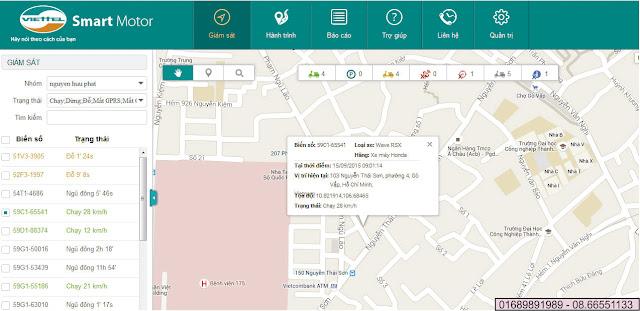 Chống trộm xe máy viettel bằng định vị toàn cầu GPS - SMARTMOTOR VIETTEL 22