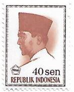 Selo Presidente Sukarno, 40 sen