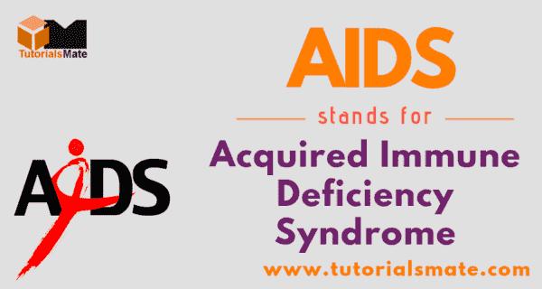 AIDS Full Form