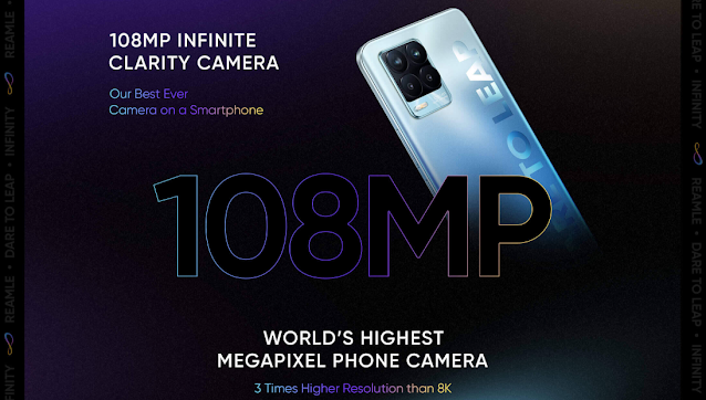 Realme 8 Series featuring a 108MP Quad-Camera launching on 24th March - Realme 8 Pro features the lightest and thinnest design | TechNeg