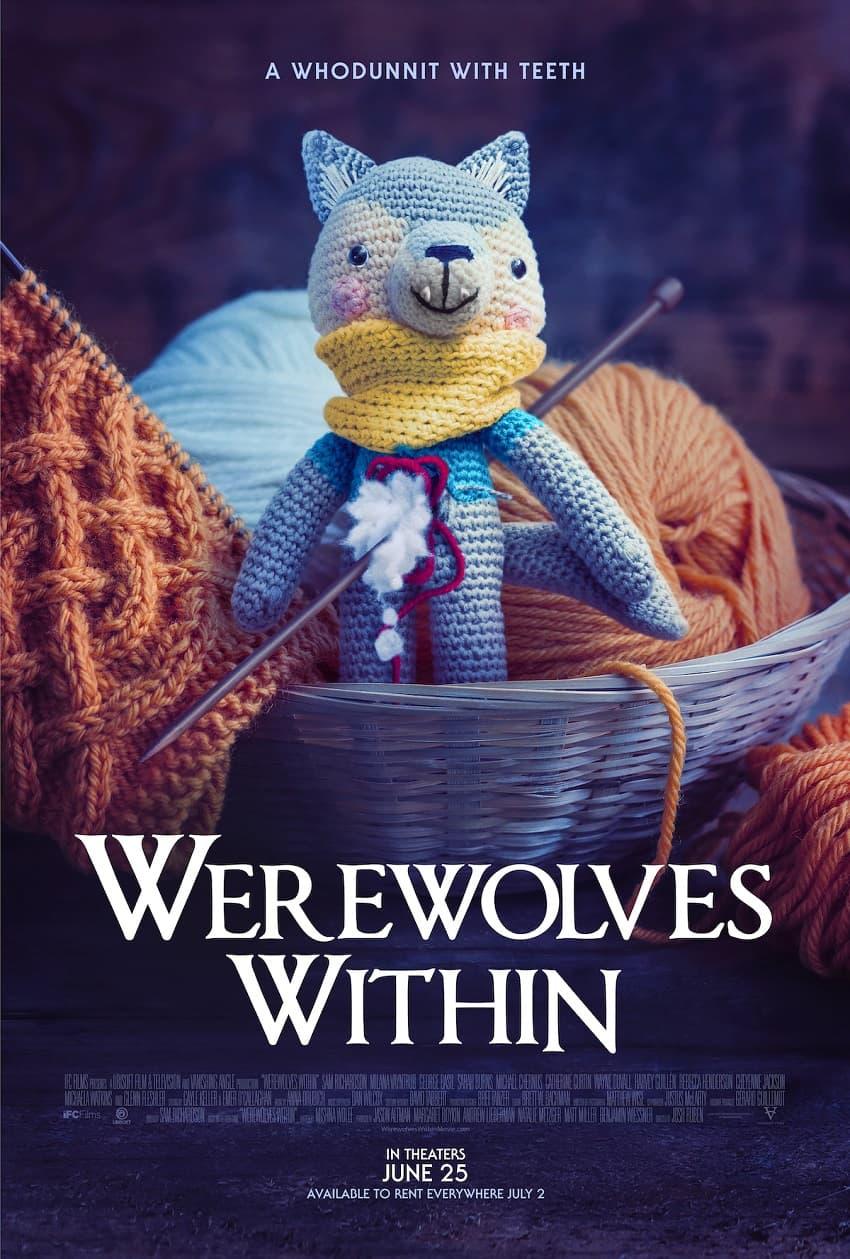 Вышел трейлер комедийного хоррора Werewolves Within по мотивам игры Ubisoft - Постер