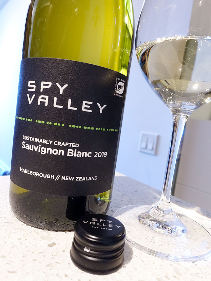 Spy Valley Sauvignon Blanc 2019 (89 pts)