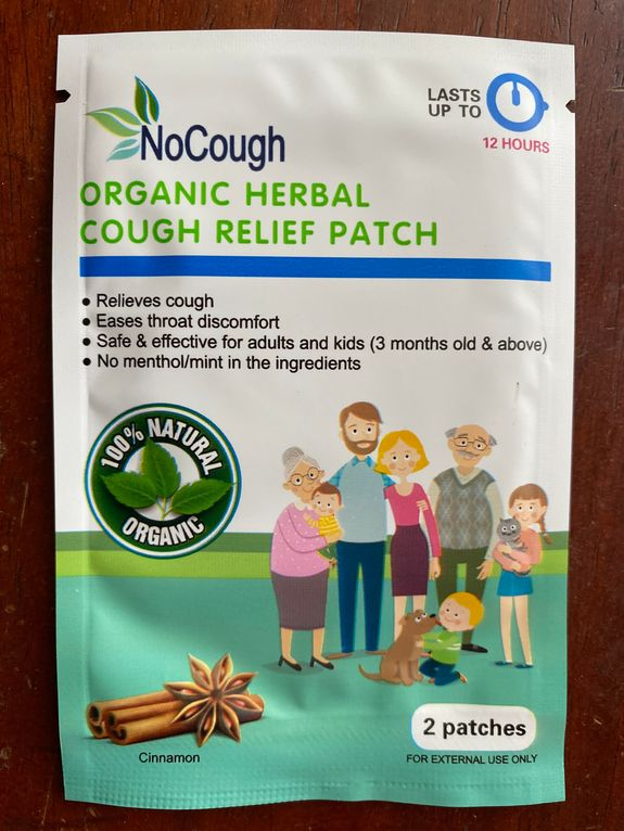 NoCough Organic Cough Relief Patch