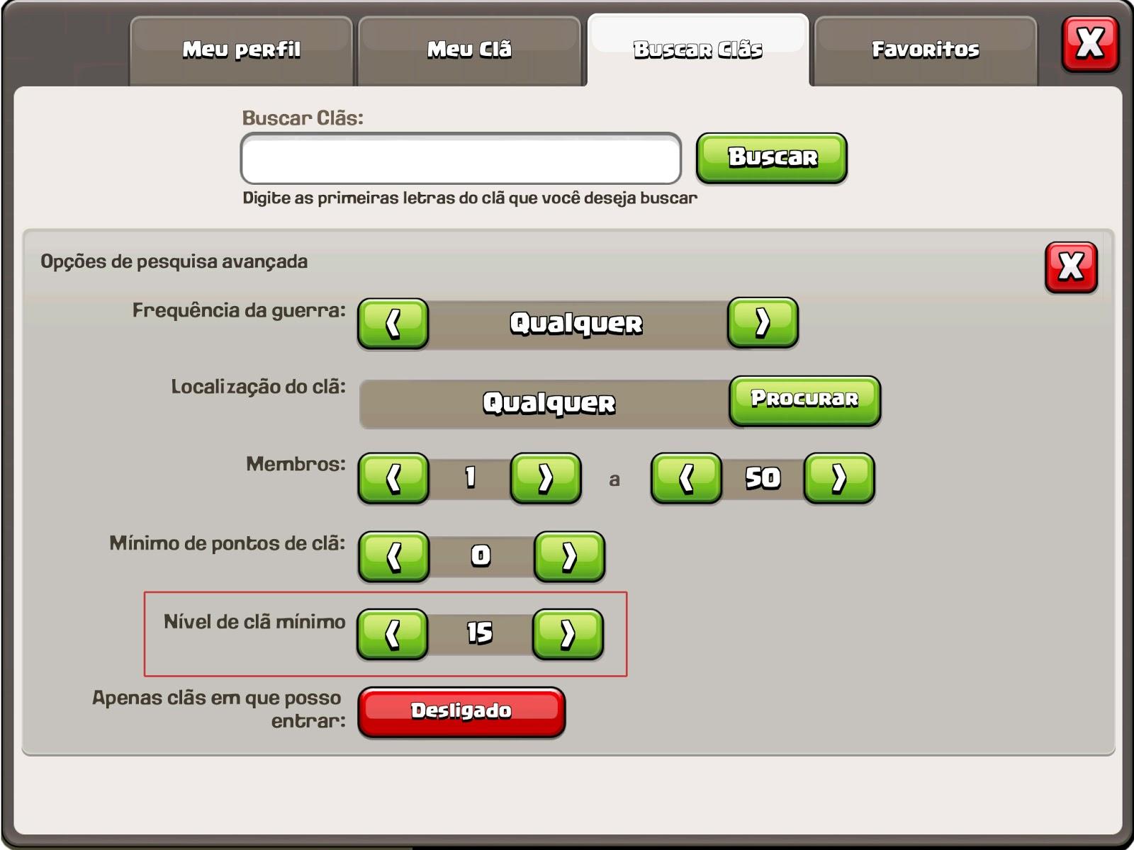 Clãs níveis 11, 12, 13, 14 e 15 em Clash of Clans - Clash