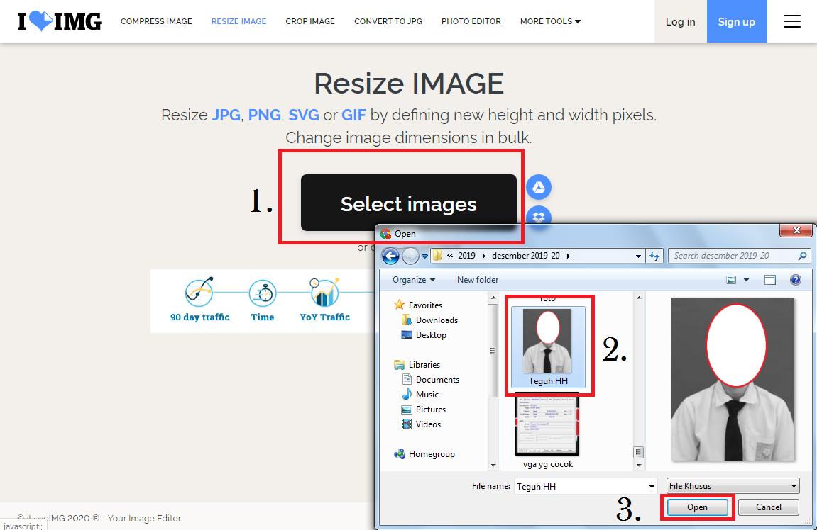 Work Cara Mengubah Ukuran Foto Menjadi 4x6 Online 2x3 3x4 Dan Lainnya Caraguha