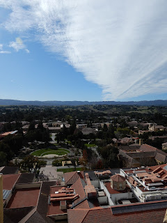 スタンフォード大学のHoover Towerから見下ろすキャンパス