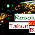 7  Langkah Mencapai Resolusi di Tahun Baru