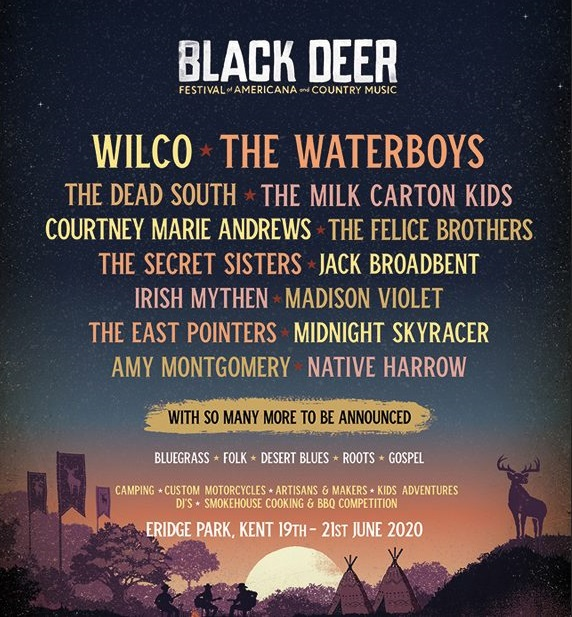 Outlaw Music Festival 2020 Lineup.Country Routes News Black Deer Festival 2020 First Line Up