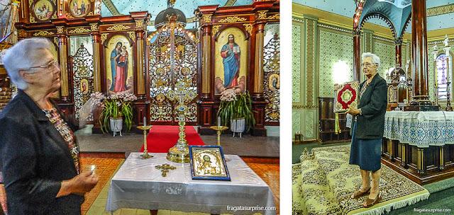 Igreja ucraniana de São Josafat - Prudentópolis - Paraná