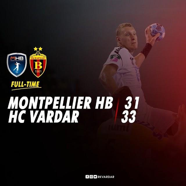 Vardar Skopje victorious in Champions League season opener vs Montpellier