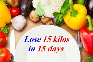 how to lose 5 kilos in 2 weeks diet
