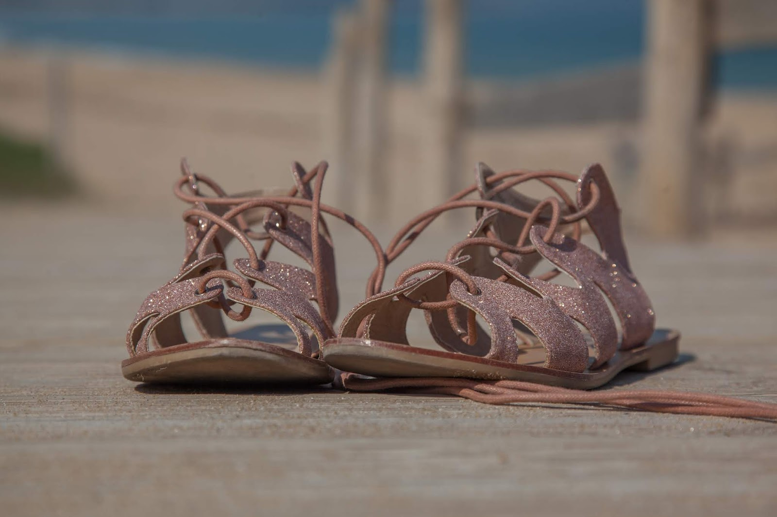 sandales - pimkie - paillettes