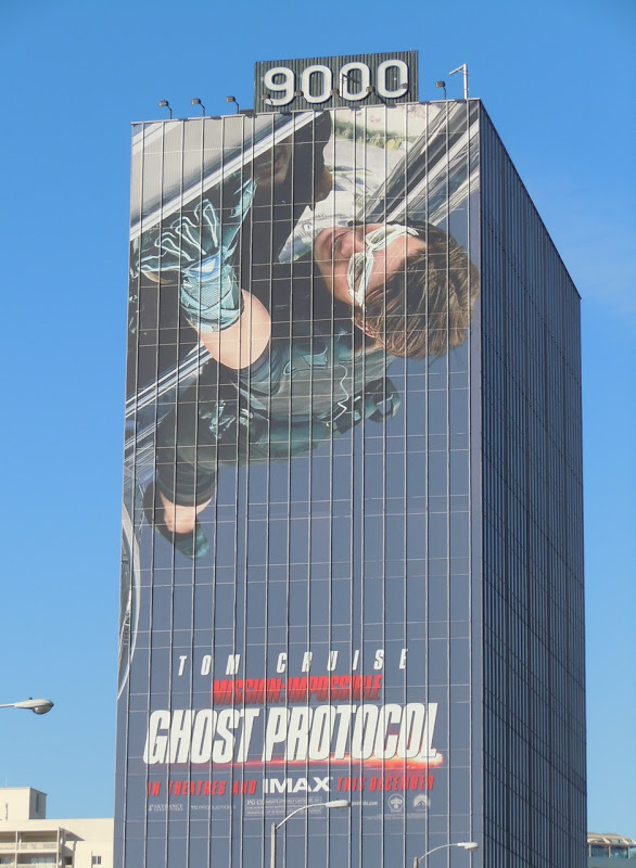 Giant Ghost Protocol movie billboard