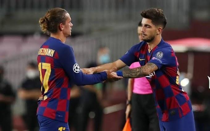 Barcelona B Captain Mochu's makes his senior debut vs Napoli