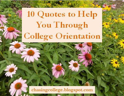 10 Quotes to Help you Through College Orientation