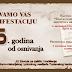 NAJAVA MANIFESTACIJE povodom obilježavanja 35. godina od osnivanja Zavoda