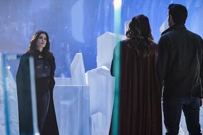 Supergirl 2x17 Distant Sun Rhea Kara Zor-El Mon-El promo pic