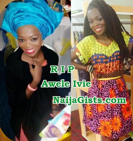 awele ivie dead