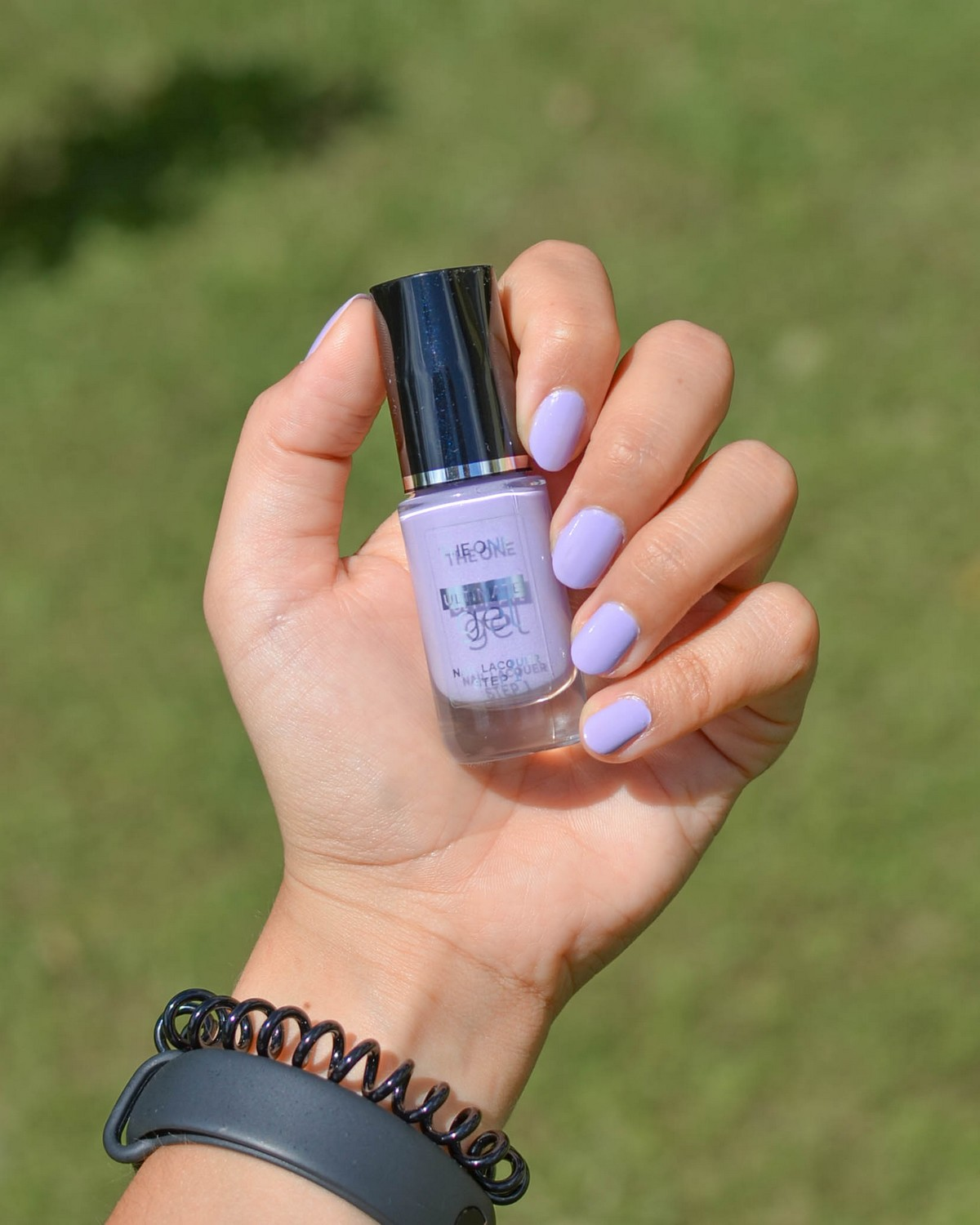 Oriflame The One Ultimate Gel Nail Lacquer & Top Coat (Nude Sorbet, Lilac Snow, Rich Goldmine)