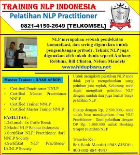Belajar Menjadi Trainer NLP di Jogja
