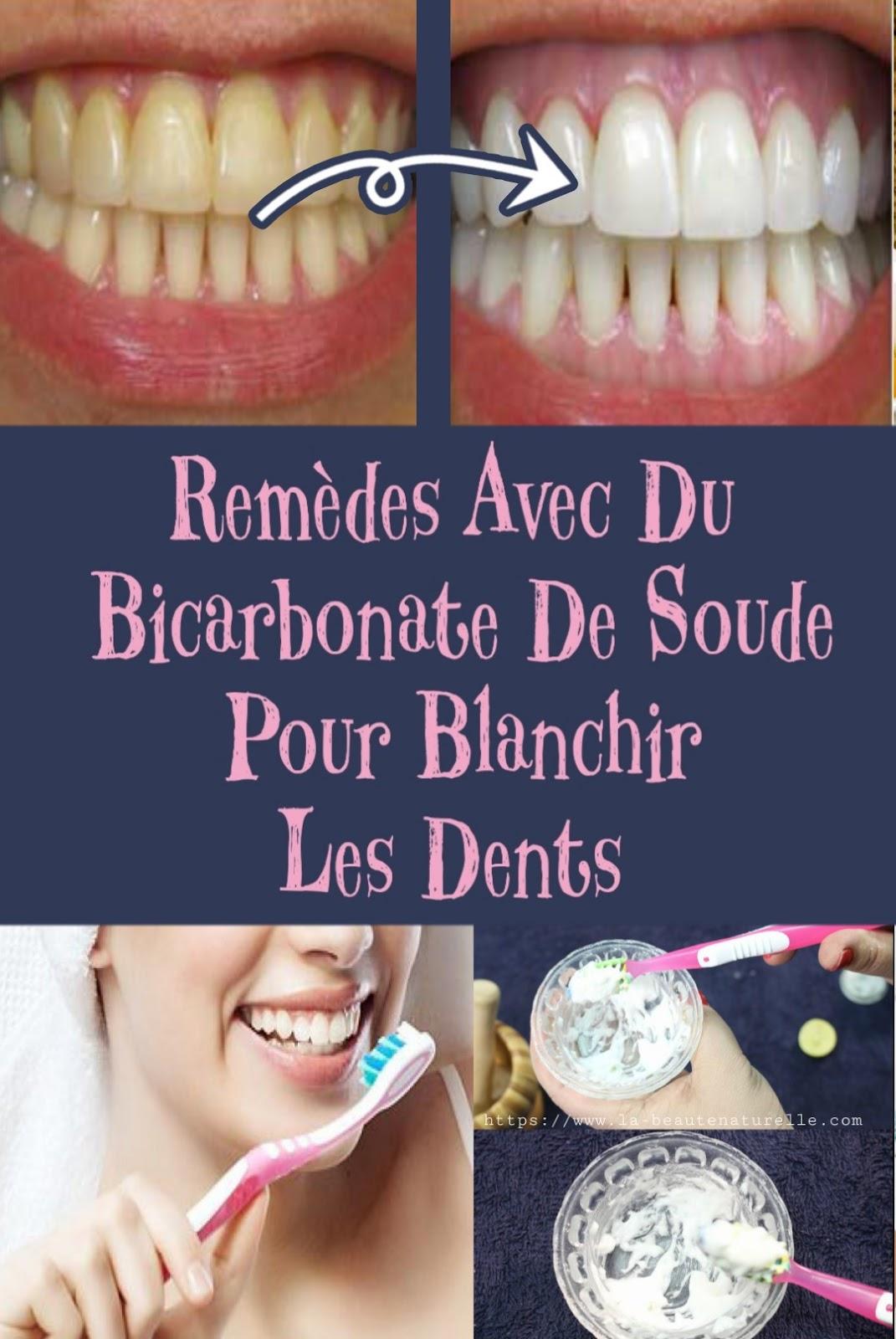 Remèdes Avec Du Bicarbonate De Soude Pour Blanchir Les Dents