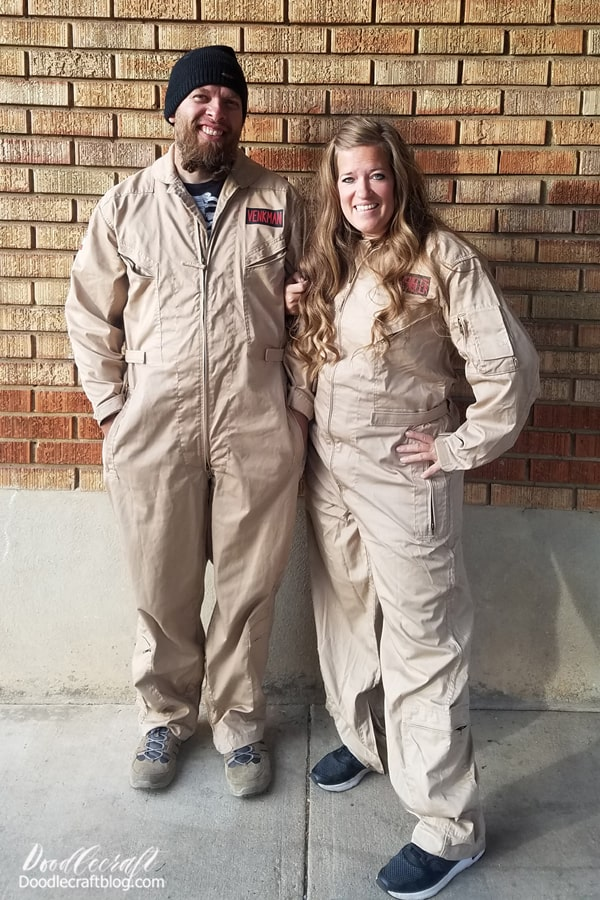 Last year for Halloween my hubby and I dressed as Ghostbusters. There's a new Ghostbuster movie on the horizon, so this is the perfect time to create some Ghostbusting merch. Make a shirt...or DIY the entire costume. Can't wait for this reboot!