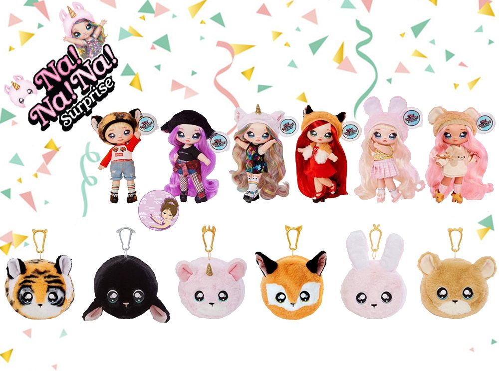NA NA NA! Surprise collection of fashion dolls