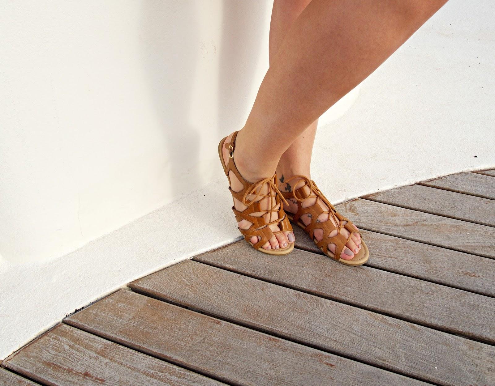 Summer Style gladiator sandals