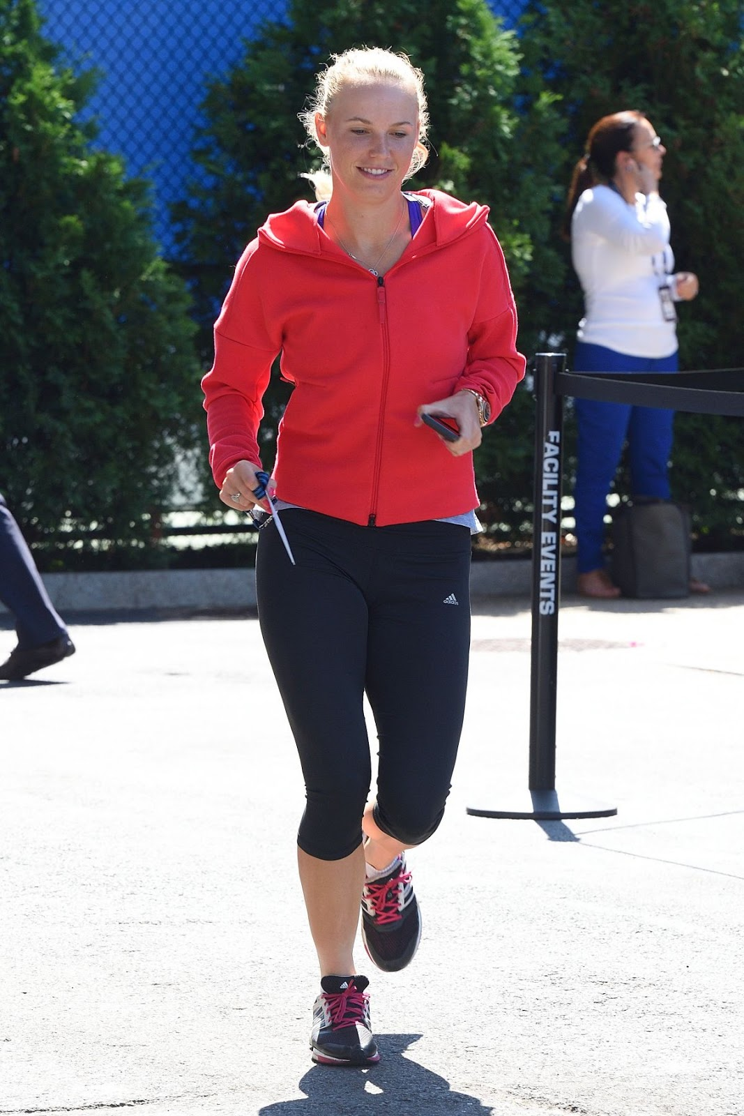Caroline Wozniacki Out And About In New York