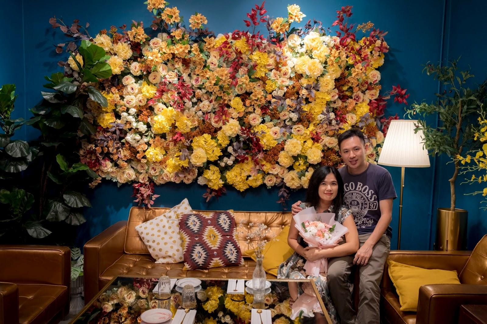Elegant High Tea Set in Dreamy Garden Setting @ Averie Hous, Penang