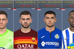 Mini Facepack Update #10-01-2021 - PES 2017
