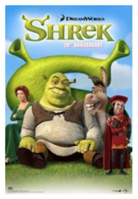 Shrek The Movie 20th Anniversary