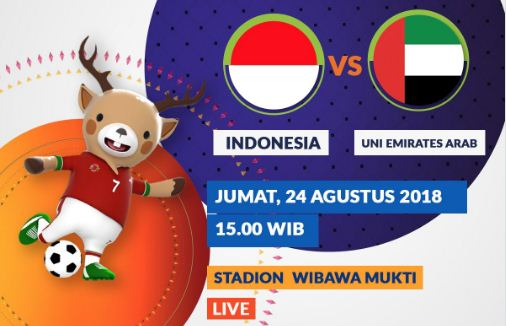 Susunan Pemain Indonesia vs Uni Emirat Arab #TimnasDay
