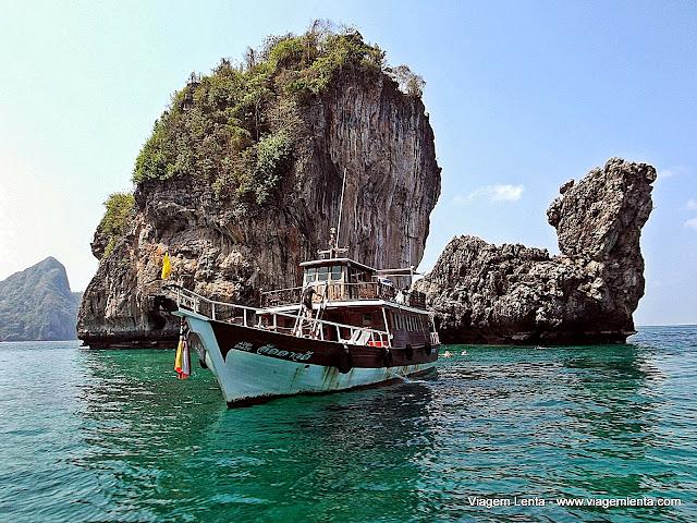 Loh Sama Bay: snorkling fantástico