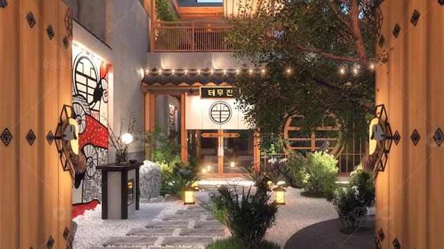 Mặt tiền nhà hàng Temujin