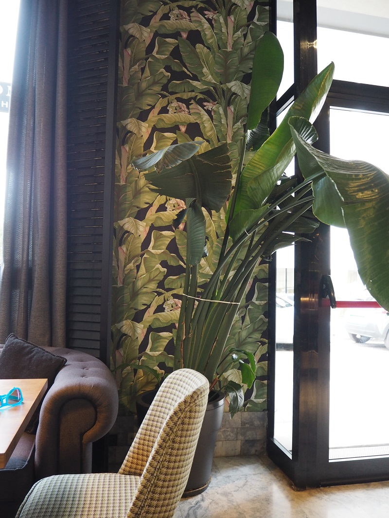 Plant interior of Hotel Malcom & Barett
