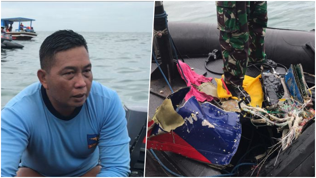 Tim Penyelam Kopaska TNI AL Sebut Sriwijaya Air SJ 182 Hancur Berkeping-keping