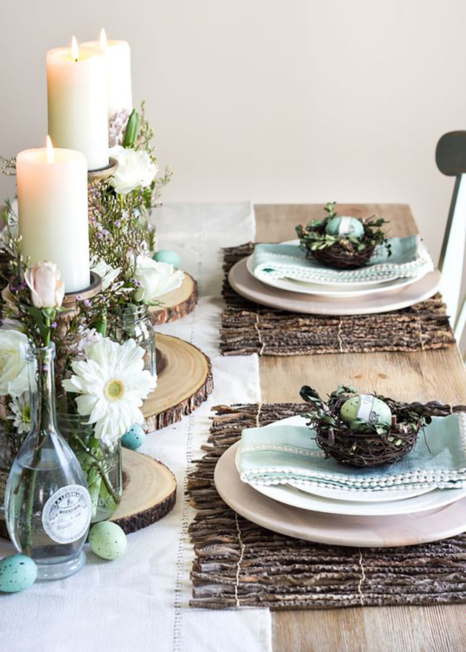 Spring And Easter Tablescapes Rustic Room Like This