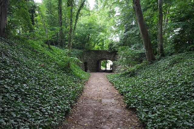 English Bridge Plantentuin Meise Botanic Garden