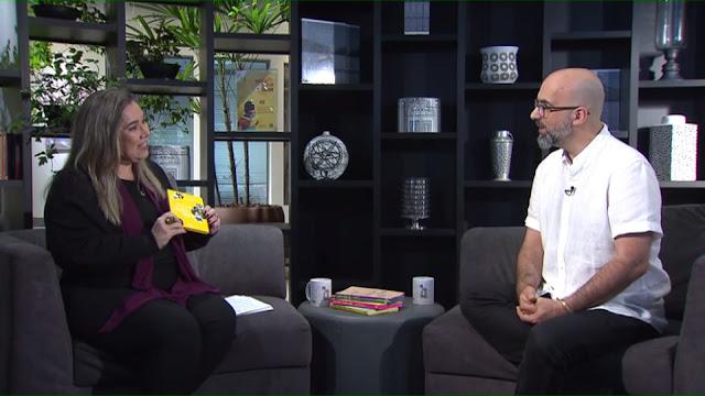 Escritor português Valter Hugo Mãe é o convidado do Trilha de Letras na noite de terça na TV Brasil