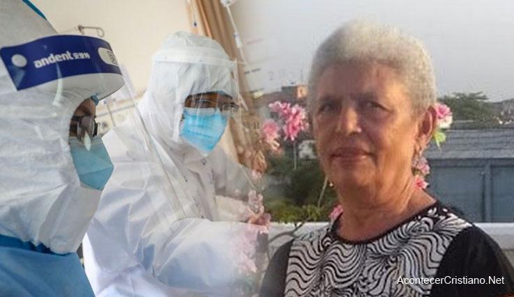 Mujer brasileña sanada de coronavirus