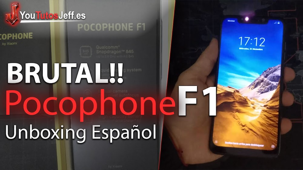 Pocophone F1 Primeras Impresiones - Unboxing Español
