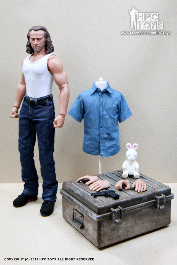This is no con, this is HPC Toys 1/6 scale Jail Hero 12 ...