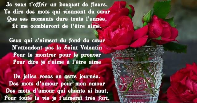 Po mes pour la saint valentin for Bouquet de fleurs 7 lettres