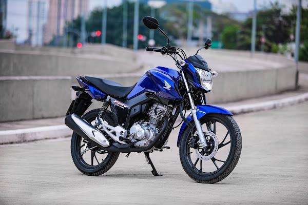 Honda CG 160 2022 - Fan - Azul