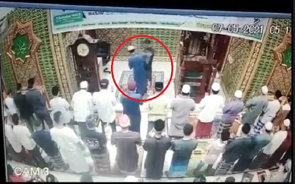 Pemukulan Imam oleh Orang tak dikenal
